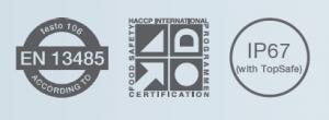 testo 106 haccp