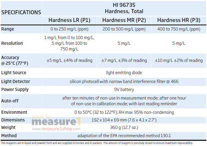 HI96735-total-hardness-เครื่องวัดความกระด้าง
