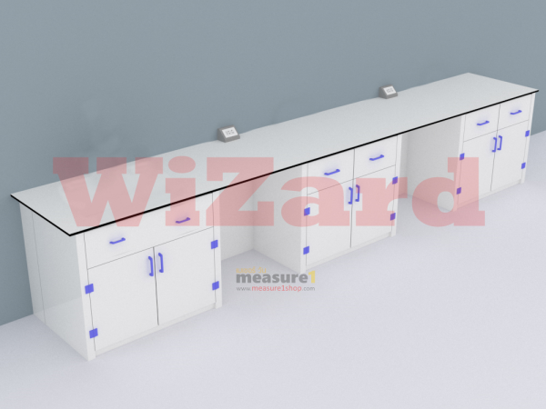 โต๊ะปฏิบัติการติดผนัง WZ-08
