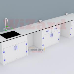 โต๊ะปฏิบัติการติดผนังพร้อมอ่างน้ำ WZ-11